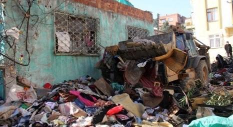 Sakarya'da çöp evden 7 kamyon atık çıktı