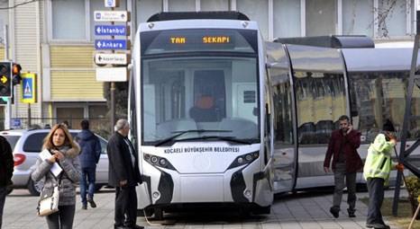 Kocaeli Tramvay Projesi tanıtım töreni yapıldı