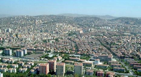Ankara Büyükşehir Belediyesi 142 milyon 804 bin liraya 2 arsa satıyor
