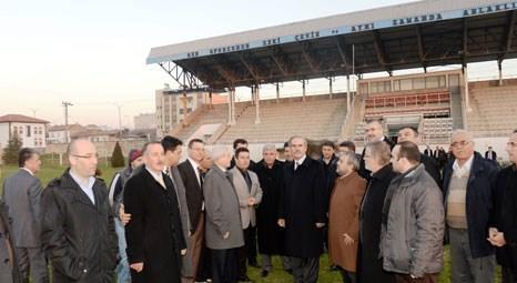 Bursa Büyükşehir Belediyesi Karacabey Stadyumu'nu yenileyecek