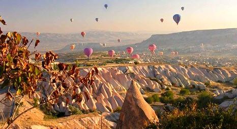Kapadokya turizmine uçak seferi dopingi