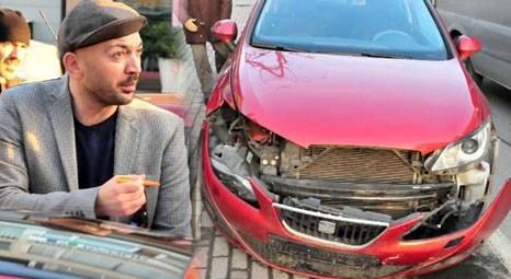 Ceyhun Yılmaz trafik kazası geçirdi