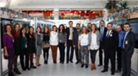 Atatürk Havalimanı'nda Rastlantılar Sergisi açıldı