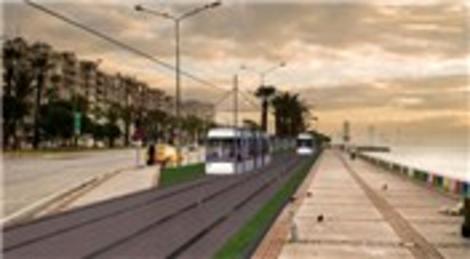 İzmir Büyükşehir Belediyesi, Karşıyaka Tramvay Projesini tanıttı