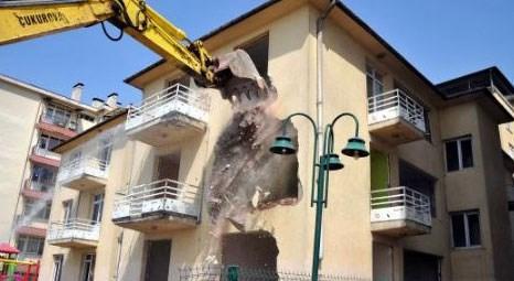 Bursa Büyükşehir Belediyesi lojmanları yarın yıkılıyor