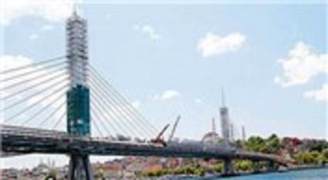 Haliç Metro Geçiş Köprüsü hizmet vermeye hazırlanıyor