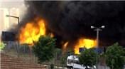 Danimarka'da helal et üretim tesisinde yangın çıktı
