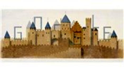 Google'dan Eugène Viollet-le-Duc doodle'ı