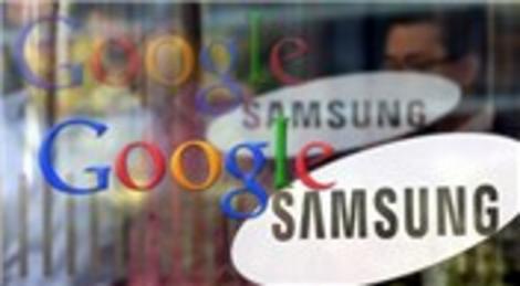 Google Samsung ile patent anlaşması imzaladı