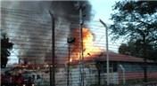 Kolombiya'da cezaevinde yangın çıktı