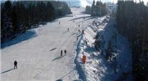 Ilgaz Kayak Merkezi'ndeki otellerin tamamı doldu
