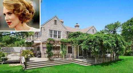Scarlett Johansson, New York Hampton Bay'den 2.2 milyon dolara ev satın aldı