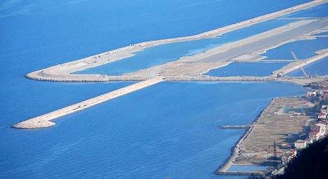 Ordu-Giresun Havalimanı'nın deniz doldurularak kurulması daha ucuza mal oldu