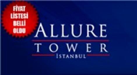 Allure Tower İstanbul Avcılar fiyat listesi belli oldu