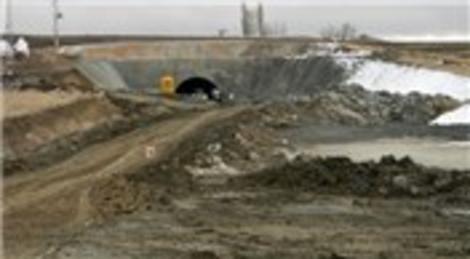 Yozgat Yüksek Hızlı Tren inşaatında göçük meydana geldi