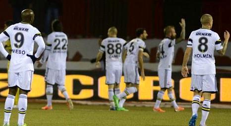 Fenerbahçe'nin Sivasspor maçındaki muhtemel 11'i