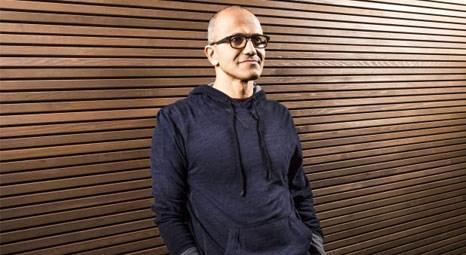 Microsoft'un yeni CEO'su Satya Nadella oldu