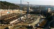 Beşiktaş Vodafone Arena'da inşaat devam ediyor