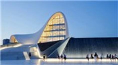 Bakü Haydar Aliyev Kültür Merkezi'ni Zaha Hadid Architects tasarladı