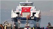 İzmir'in yeni gemilerinden ilki hizmete alındı