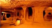 Kapadokya'da patates deposu yer altı şehri oldu