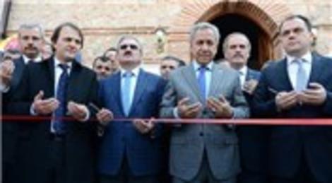 Bülent Arınç Bursa Karacabey Ulu Camisi'ni ibadete açtı