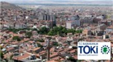 TOKİ Afyonkarahisar'a 215 konut yaptıracak