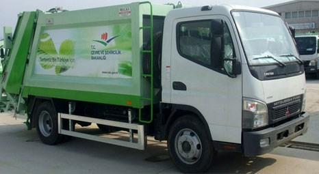 Çevre ve Şehircilik Bakanlığı, belediyelere 229 çöp toplama aracı teslim ediyor