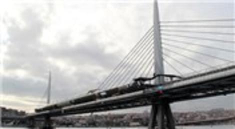 Haliç Metro Geçiş Köprüsü 15 Şubat'ta açılacak