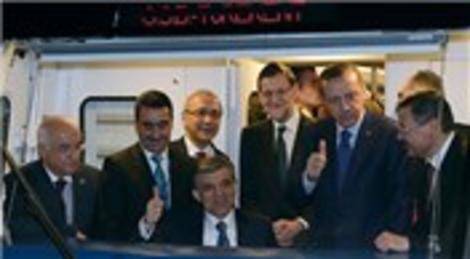 Ankara Batıkent-Sincan Metrosu'nu Abdullah Gül hizmete açtı