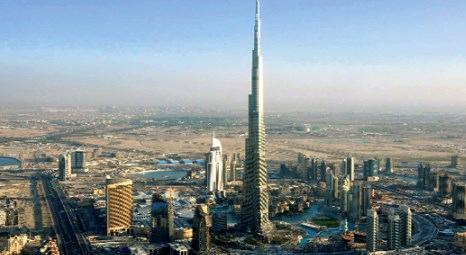 Dubai Burj Khalifa'da asansörler kapatılıyor