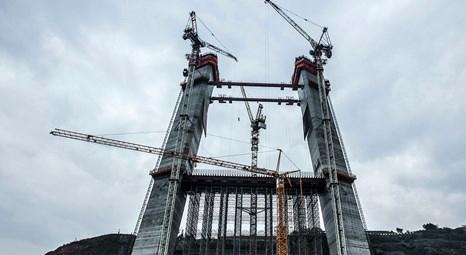 3. Köprü'nün ayakları her gün 2 metre yükseldi