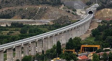 Süleyman Karaman Eskişehir-İstanbul yüksek hızlı tren inşaatını inceledi
