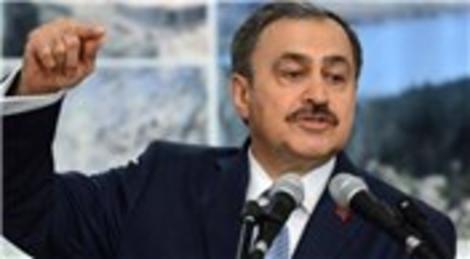 Veysel Eroğlu '1000 göletle kuraklık önlenecek'