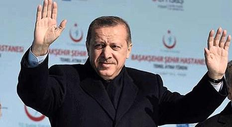 Recep Tayyip Erdoğan İkitelli Şehir Hastanesi'nin temel atma törenine katıldı