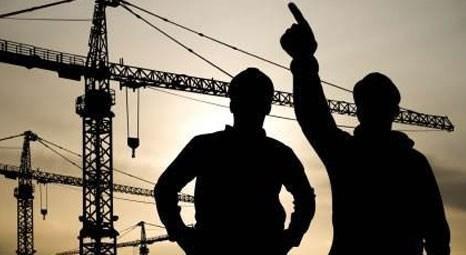 Kasım'da istihdam edilenlerin yüzde 7,4'ü inşaat sektöründe yer aldı