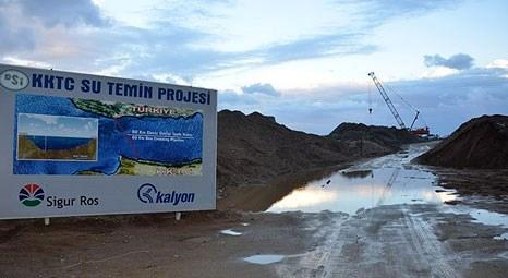 KKTC Su Temin Projesi'nin en önemli ayağı 7 Mart'ta bitiyor
