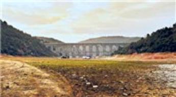 Barajların doluluk oranı yüzde 29,99'a indi