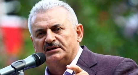 Binali Yıldırım, İzmir'e yönelik 1414 projenin tanıtımını yaptı