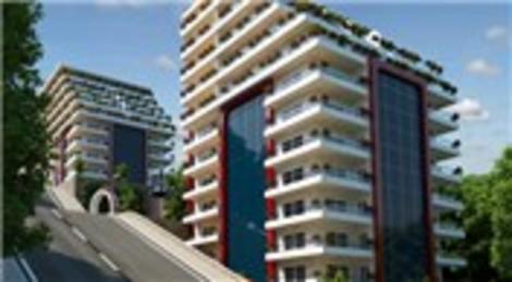 Samsun Demo Towers'ın örnek dairesi hazır