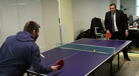 Ahmet Sarıcalı ile masa tenisinde son nokta!