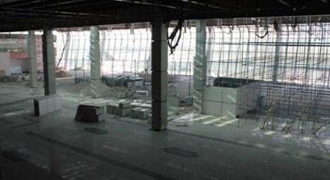 Konya Havalimanı yeni terminal binasında sona gelindi!