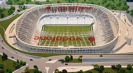 Vodafone Arena inşaat çalışmalarında son durum