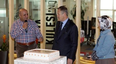 Süleyman Çetinsaya, FKR Group'un 10. yaşını kutladı