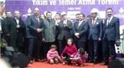 Fikirtepe'de Anka Evim Kadıköy ile ilk temel törenle atıldı
