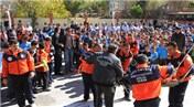 AFAD, Van'da düzenlenen deprem tatbikatlarıyla gerçeği aratmadı