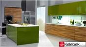 Kelebek, ceviz ve yeşilin uyumu ile mutfaklara renk katıyor