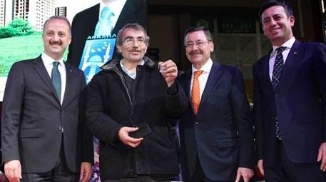 Ankara Mamak'ta 768 kentsel dönüşüm konutu sahiplerini buldu