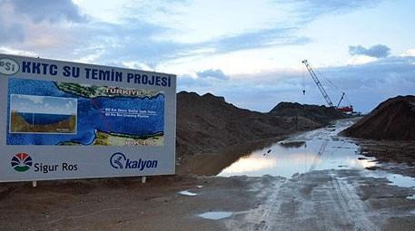 KKTC Su Temin Projesindeki Alaköprü ve Geçitköy barajları tamamlandı