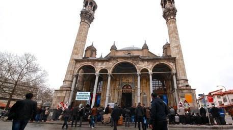 Konya Aziziye Cami yeniden ibadete açıldı